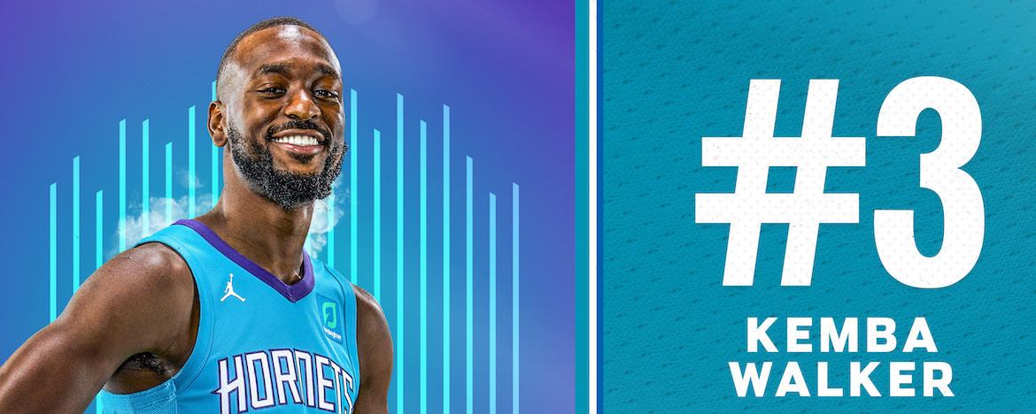 Walker Named 3rd on Hornets 30th Anniversary Team