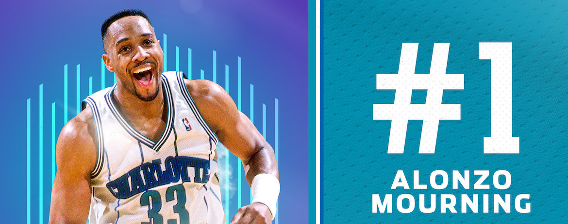 Mourning Named 1st on Hornets 30th Anniversary Team
